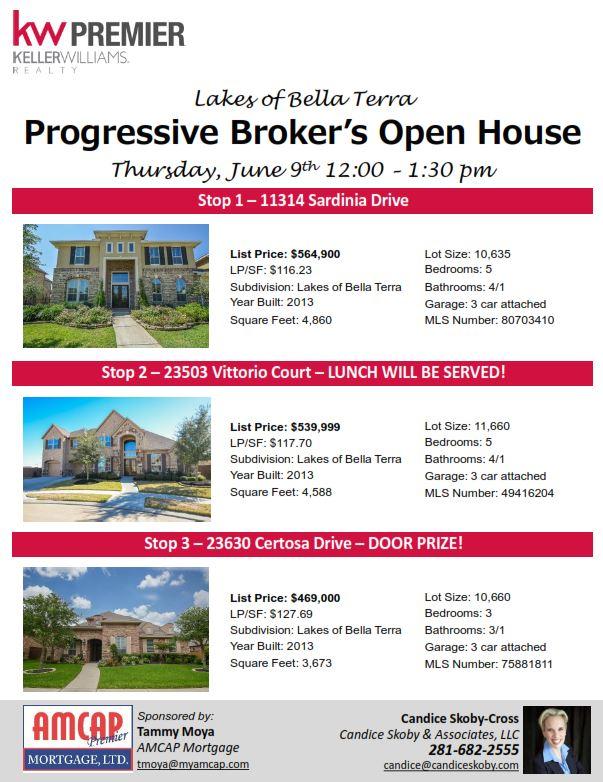 Preferred Progressive Broker's Open House! ZS41
